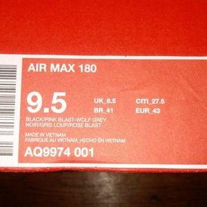 Brand New Nike AIR MAX 180